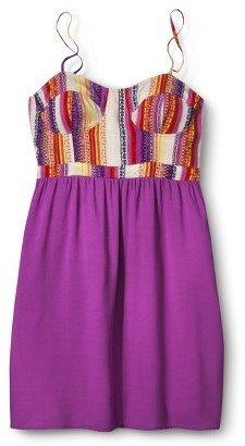 Xhilaration Bustier Challis Dress
