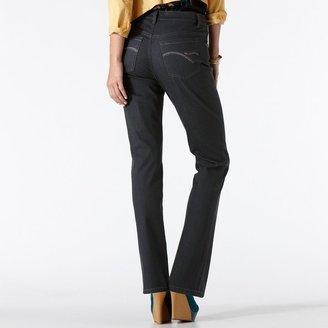 Gloria Vanderbilt amanda slimming embellished tapered jeans