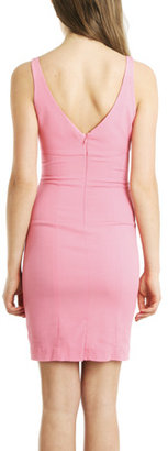 L'Agence Fitted Tank Dress