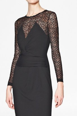 French Connection Vienna Lace Fitted Dress