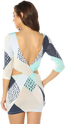 Maurie And Eve The Amazonite Cut Out Dress in Geo