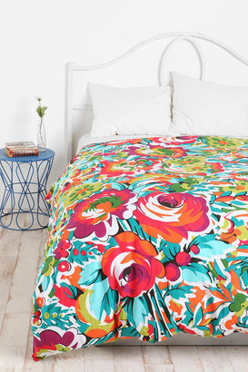 Urban Outfitters Bouquet Duvet Cover