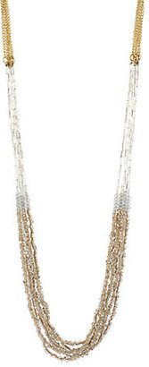 Kenneth Cole NEW YORK Beaded Multi-Chain Necklace