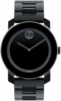 Movado 'Large Bold' Bracelet Watch, 42mm