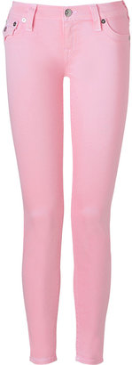 True Religion Baby Pink Legging Jeans