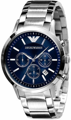 Emporio Armani Watch, Men's Stainless Steel Bracelet AR2448 $325 thestylecure.com
