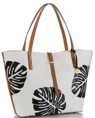 Brahmin All Day Tote Monaco White