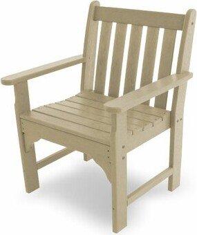 Polywood Vineyard Garden Patio Chair Color: Sand
