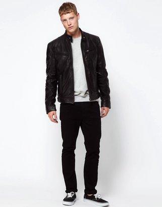 Barney's Originals Barney's Leather Jacket Biker
