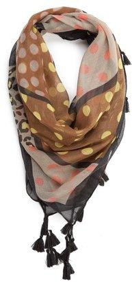 MANGO TOUCH - Print tassels scarf