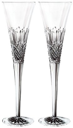 Monique Lhuillier Waterford Ellypse Gift Boxed Champagne Flute, Set of 2