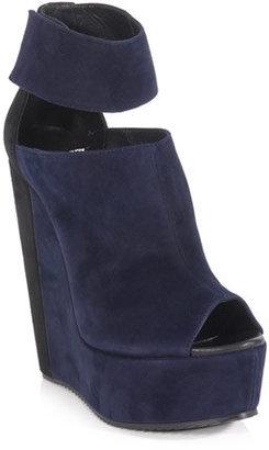 Pierre Hardy Bi-colour wedge sandals