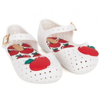 Mini Melissa White Jelly Apple Mary-Janes