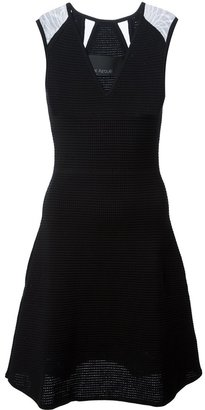 Yigal Azrouel textured mesh dress