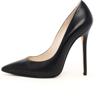 Michael Kors KORS Aberly Leather Pump, Black