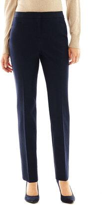 Liz Claiborne Denim Cigarette Pants - Petite