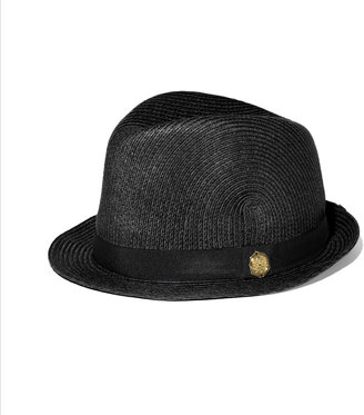 Vince Camuto Solid Ribbon Fedora