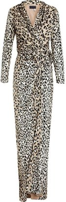 Lanvin Leopard Jacquard Gown