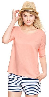 Gap Luxe jersey boxy top