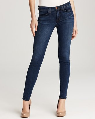 J Brand Jeans - 620 Super Skinny Jeans in Bluebell Wash