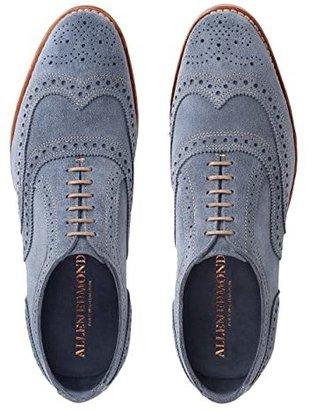 Allen Edmonds Neumok (Camel Suede) Men's Lace Up Wing Tip Shoes
