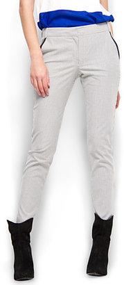 MANGO Suit striped trousers