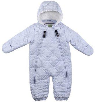 Kushies Unisex-Baby Newborn Snow Angel 1 Piece Snowsuit