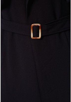 Missguided Arabela Black Sleeveless Lightweight Trench Coat