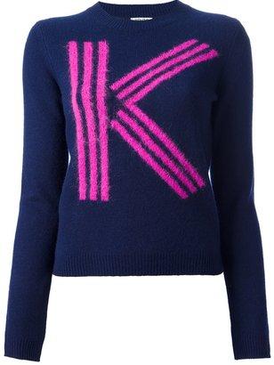 Kenzo 'K' logo jumper