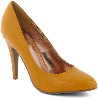 Updating a Classic Heel in Mustard