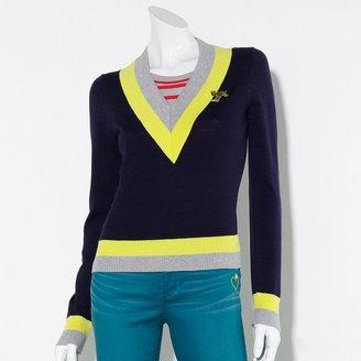 Vera Wang Princess colorblock sweater - juniors