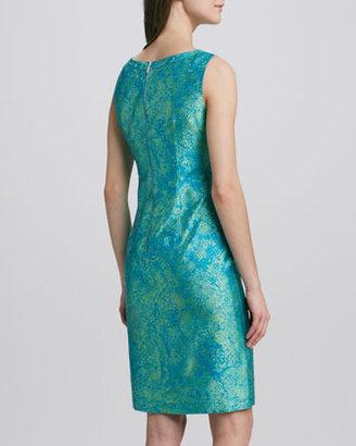 Elie Tahari Holly Jacquard Sheath Dress
