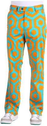 South Beach Loudmouth Golf Pant (Orange/Teal) - Apparel