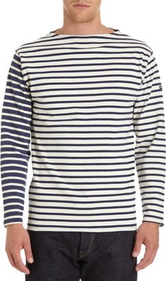 Barneys New York Saint James x Striped Long Sleeve Tee Sale up to 60% off at Barneyswarehouse.com