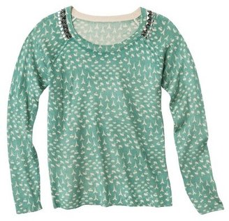 Junior's Studded Pullover Sweater