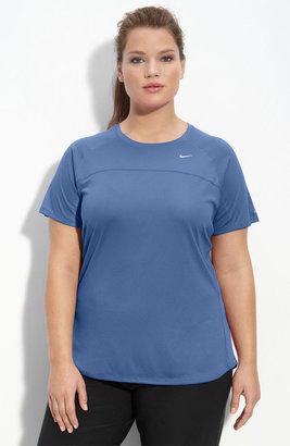 Nike 'Miler' Short Sleeve Tee (Plus)