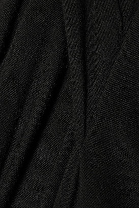 Rick Owens LILIES wrap-effect jersey top