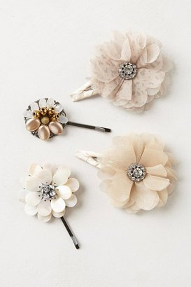 Anthropologie Palebloom Clips
