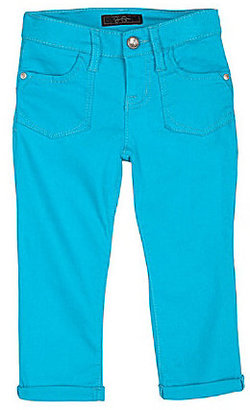 Jessica Simpson Tweenwear 7-16 Rolled-Cuff Cropped Jeans