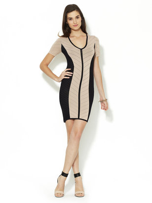 Torn By Ronny Kobo Caterina Combo Pointelle Dress