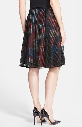 Rachel Roy Flared Lace Skirt