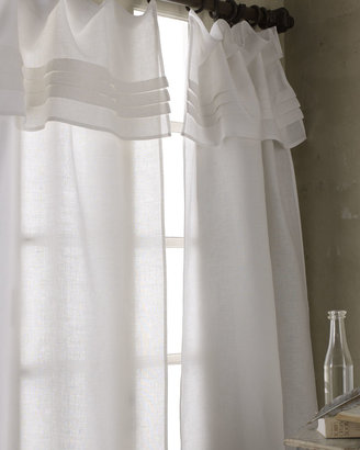 Pine Cone Hill Pleated-Top Curtains