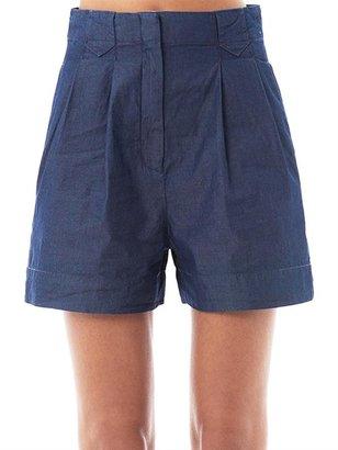 Theory Eban cotton shorts