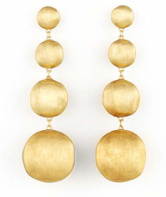 Marco Bicego Africa Yellow Gold Four-Drop Earrings