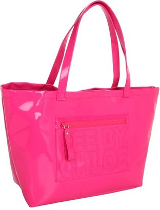 See by Chloe Large Tote (Fuchsia) - Bags and Luggage