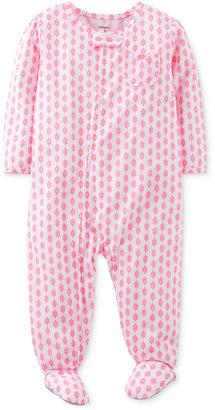 Carter's Toddler Girls' One-Piece Footed Pajamas