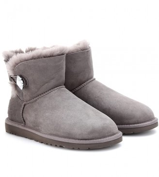 UGG Mini Bailey Bling shearling-lined shoe boots