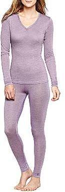 Cuddl Duds Long-Sleeve Pajama Top or Leggings