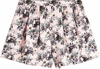 Moschino Printed Cotton Shorts