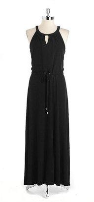 Calvin Klein Sleeveless Halter Maxi Dress